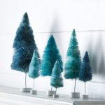 Blue Rainbow Trees Set