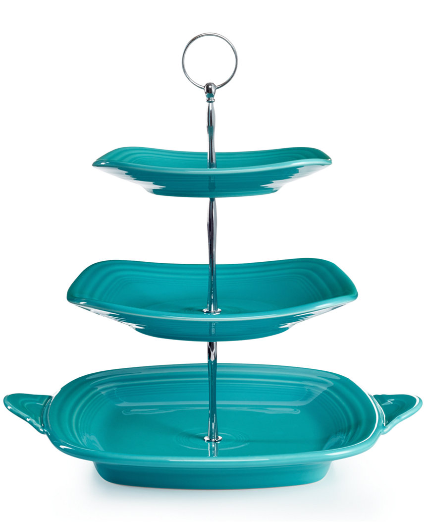 Everything Turquoise: Fiesta 3-Tier Turquoise Server