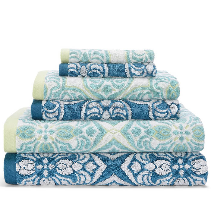 Sky Zophia Towel Collection