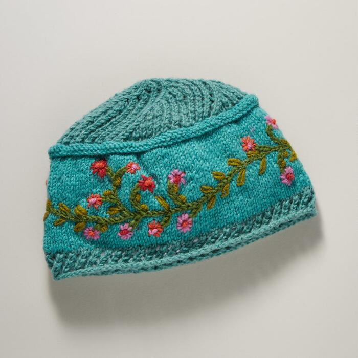 Turquoise Meadow Breeze Hat