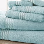 Amrapur 6-Piece Towel Set in Light Blue