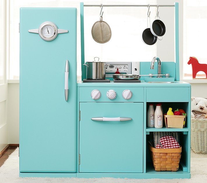 Aqua Retro All-in-1 Kitchen