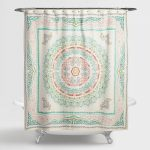 Arabella Medallion Shower Curtain