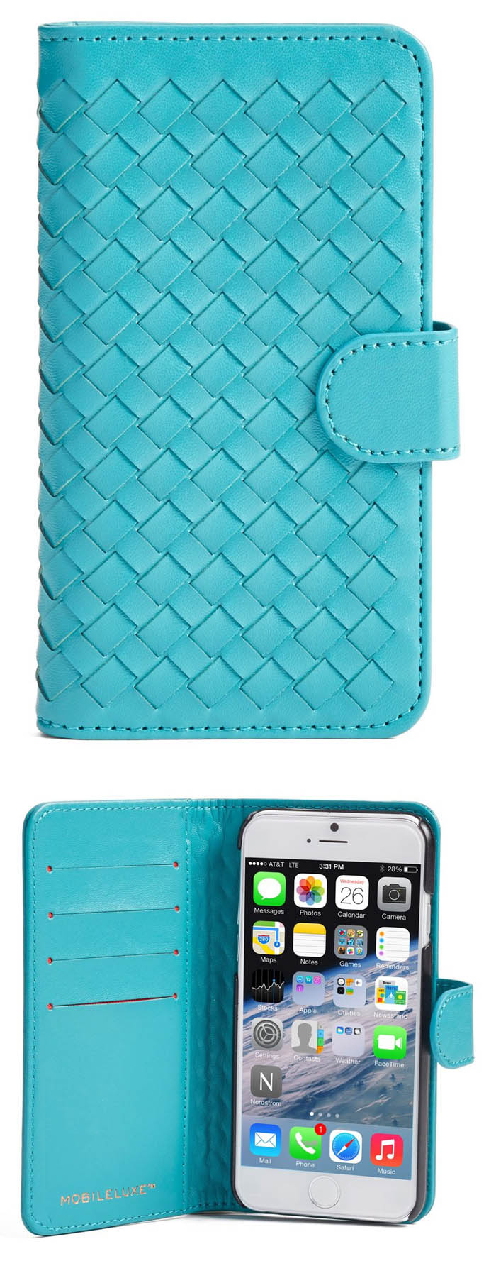 Teal Iphone 6 6s Wallet Case Everything Turquoise