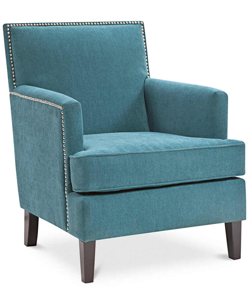 Peacock Blue Kendall Accent Chair,