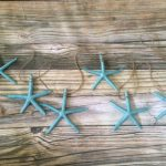 Blue Starfish Garland