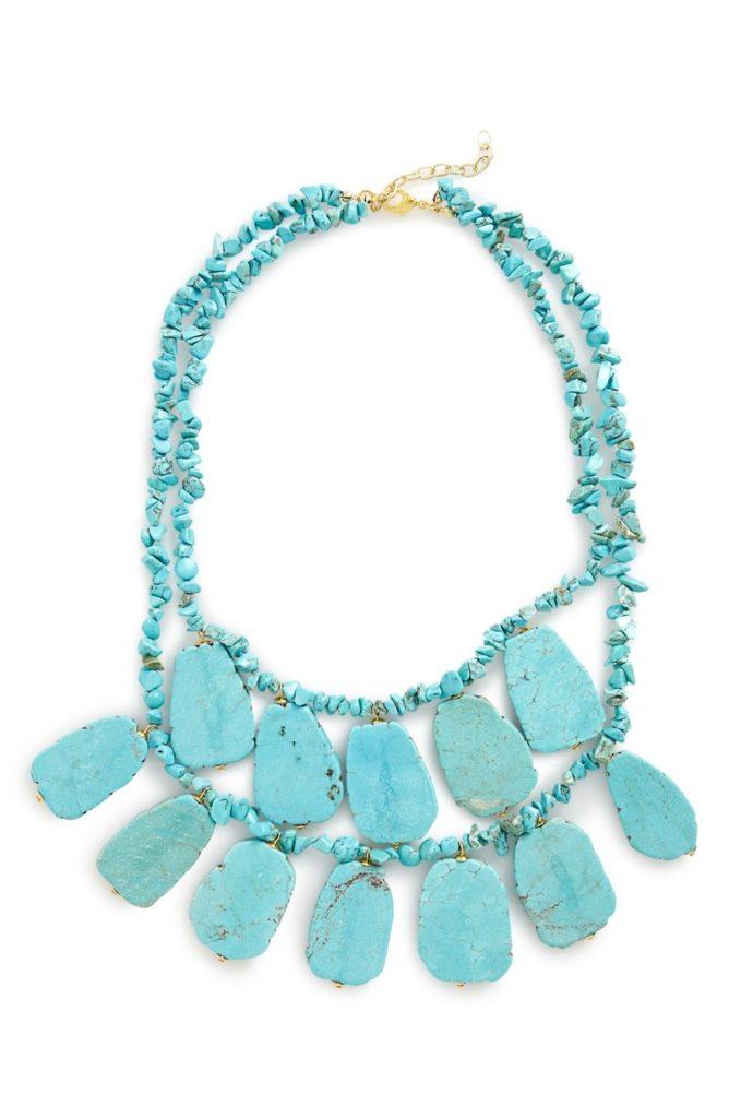 Panacea Turquoise Statement Necklace