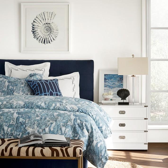 Printed Peacock Bedding