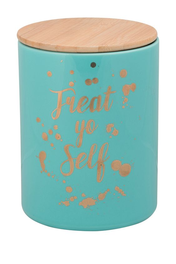 Treat Yourself Large Canister