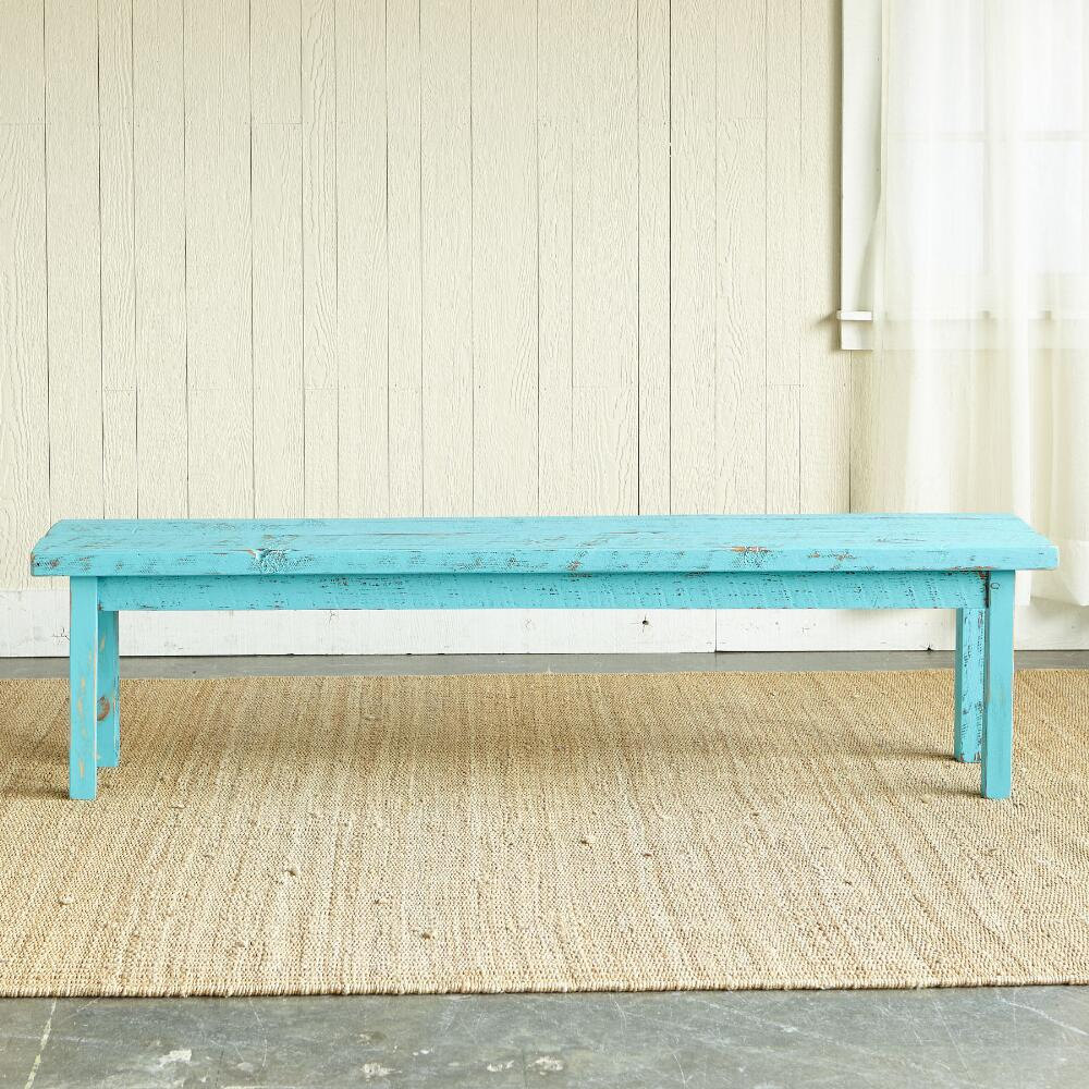 Turquoise Cumberland Bench