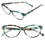 Turquoise & Tortoiseshell Marge Reading Glasses