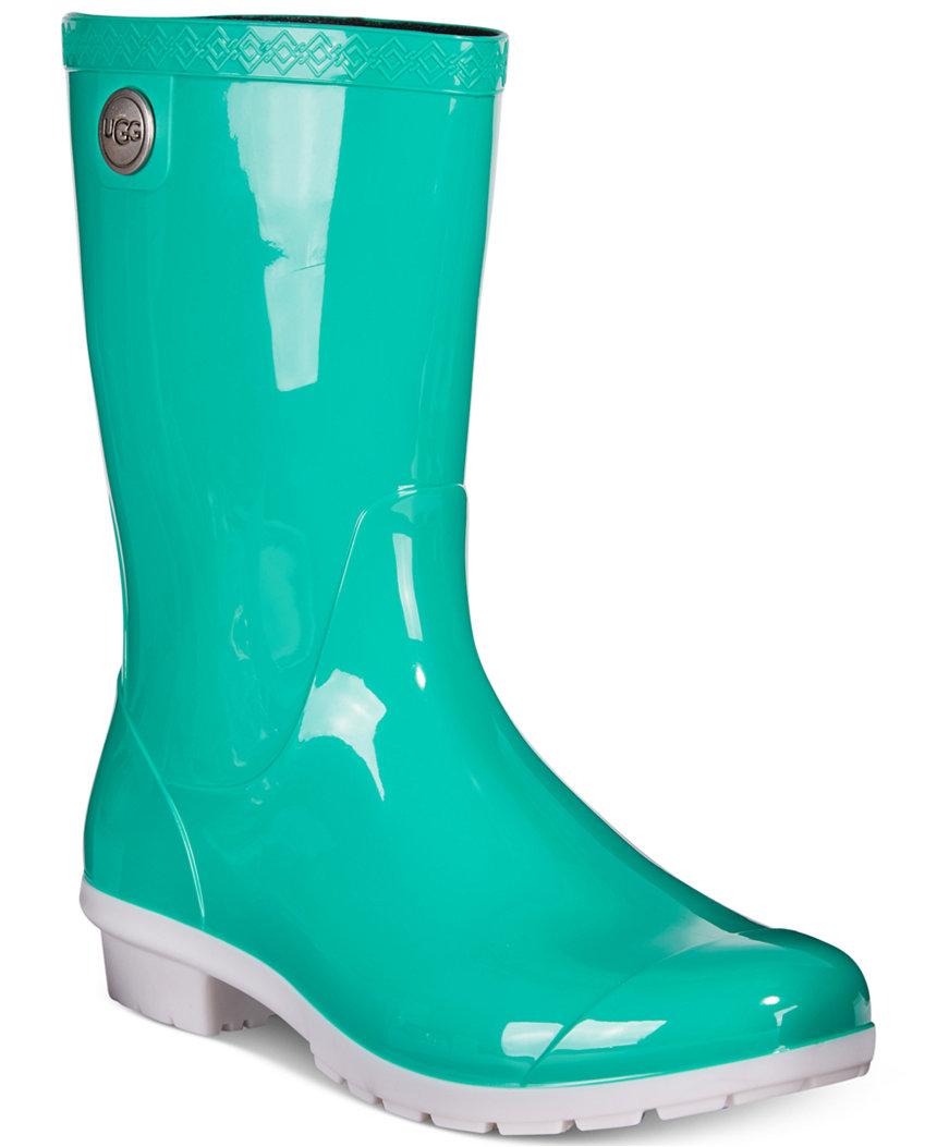 teal ugg boots