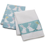 Easter Bunny Dish Towels