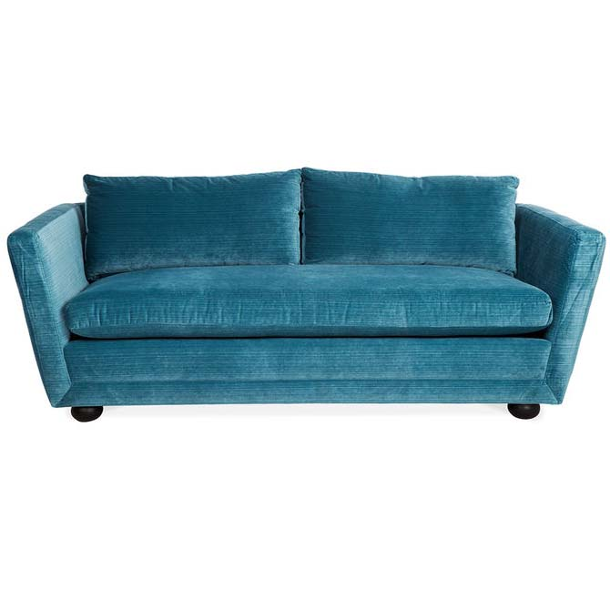 Jonathan Adler Sebastian Loveseat Everything Turquoise