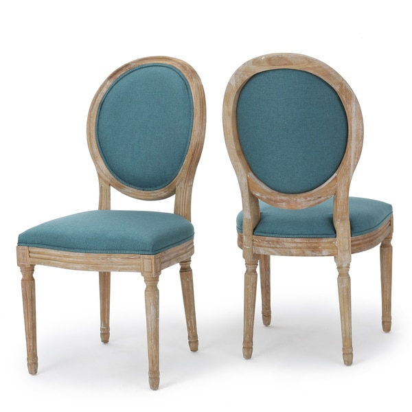 Phinnaeus Fabric Dining Chair (Set of 2)