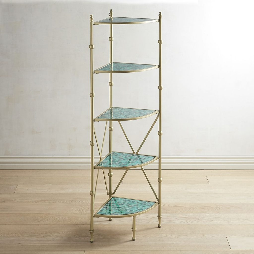 Sierra 5-Tier Corner Shelf