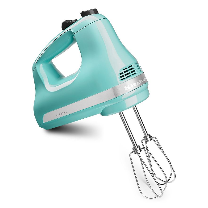 ... KitchenAid Aqua Sky Hand Mixer