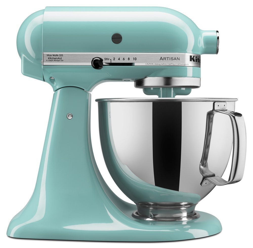 KitchenAid Aqua Sky 5-pc. Mixing Bowl Set | Everything Turquoise