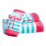 Pink Flamingo Towel Set
