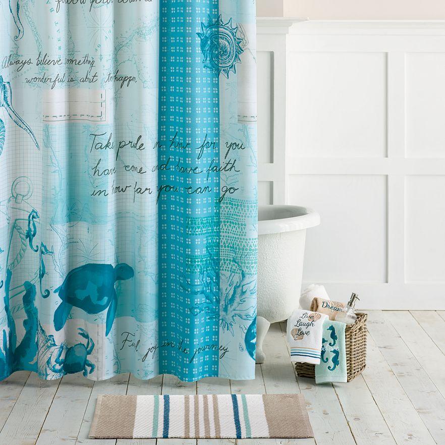 Shoreline Shower Curtain Collection