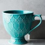 Turquoise Tea Room Mug