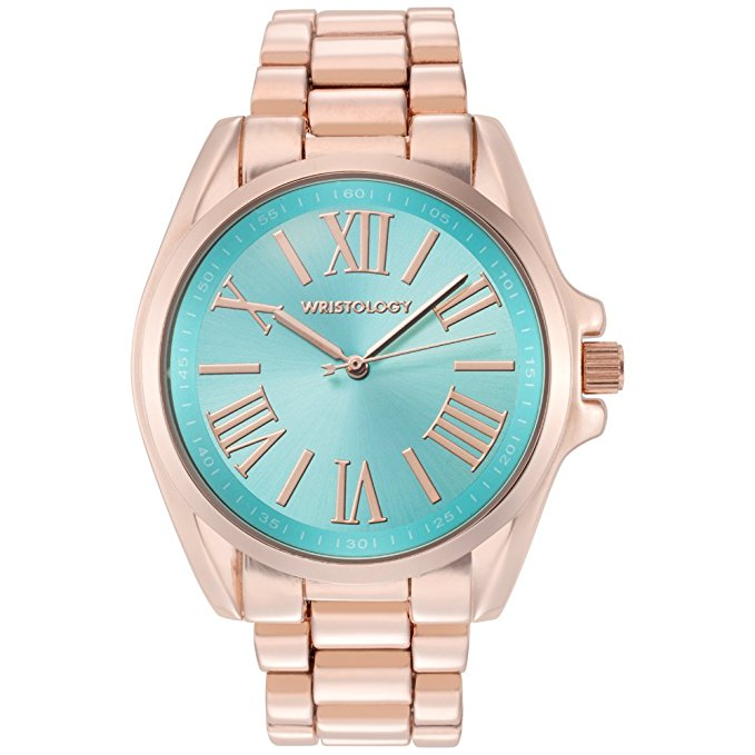 Wristology Rachel Blue Face Boyfriend Watch
