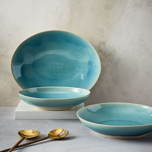 Alta Crackle Serveware