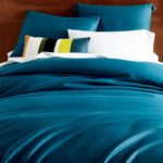 Blue Teal TENCEL Duvet Cover + Shams