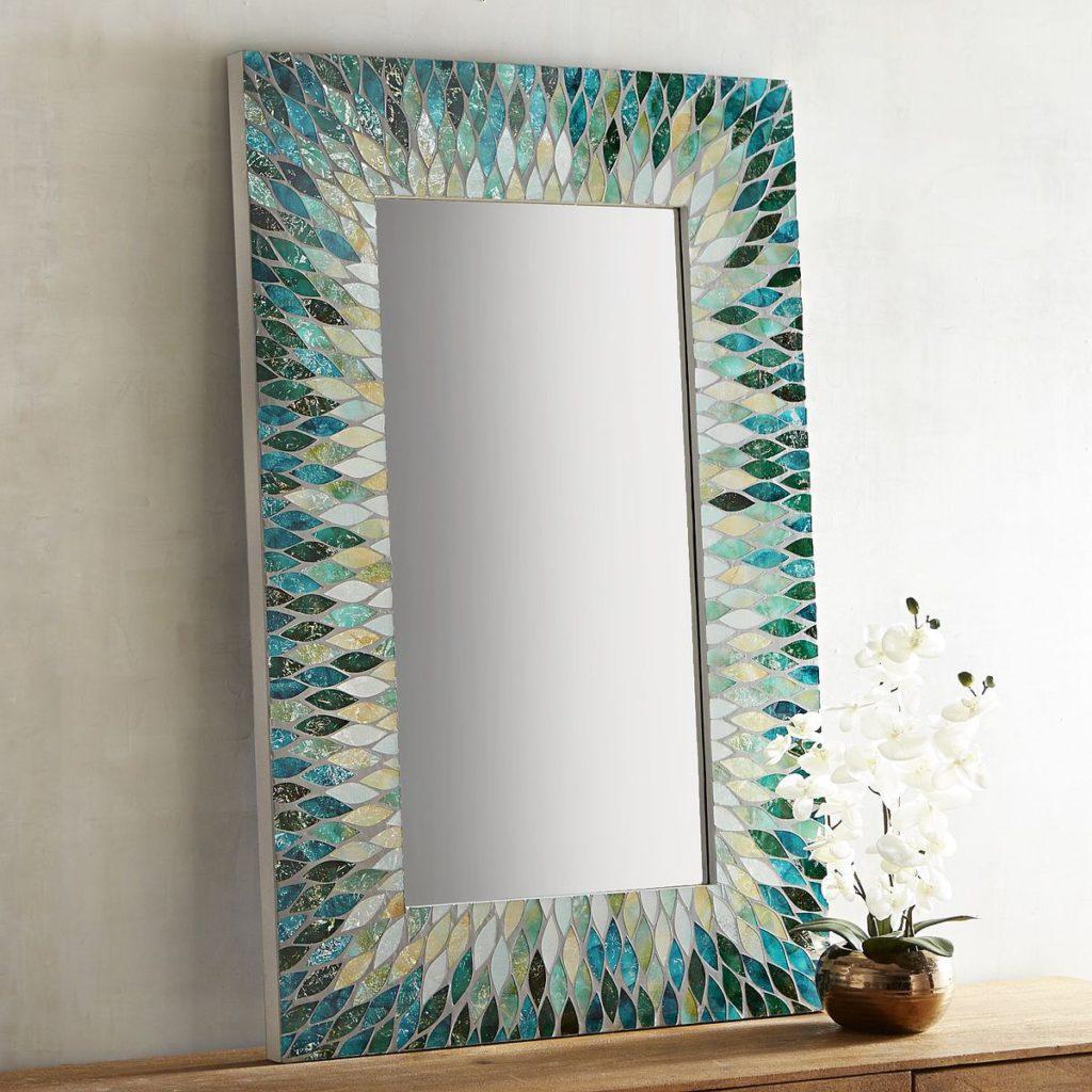 Cascade Mosaic 32x48 Mirror