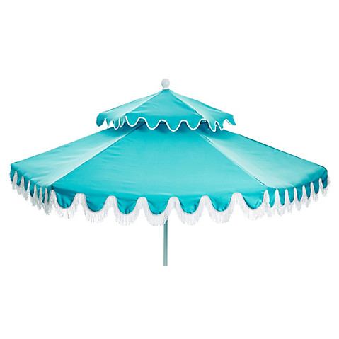 Attrayant Daiana Two Tier Patio Umbrella