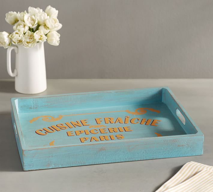French Wood Tray