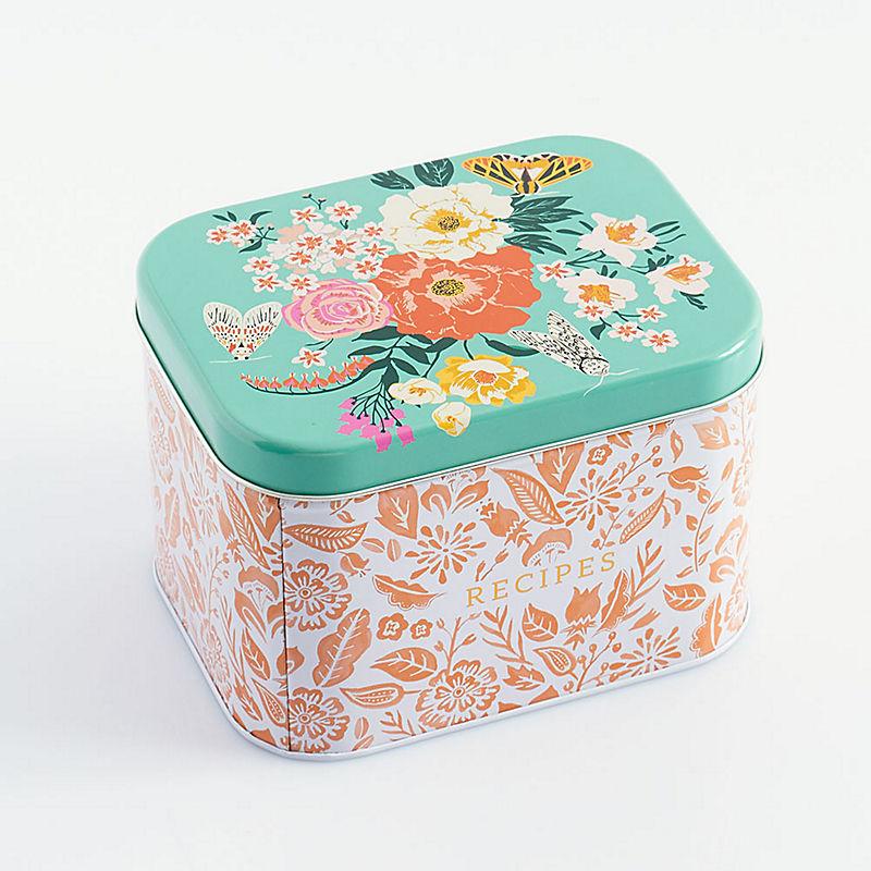 Garden Party Recipe Box