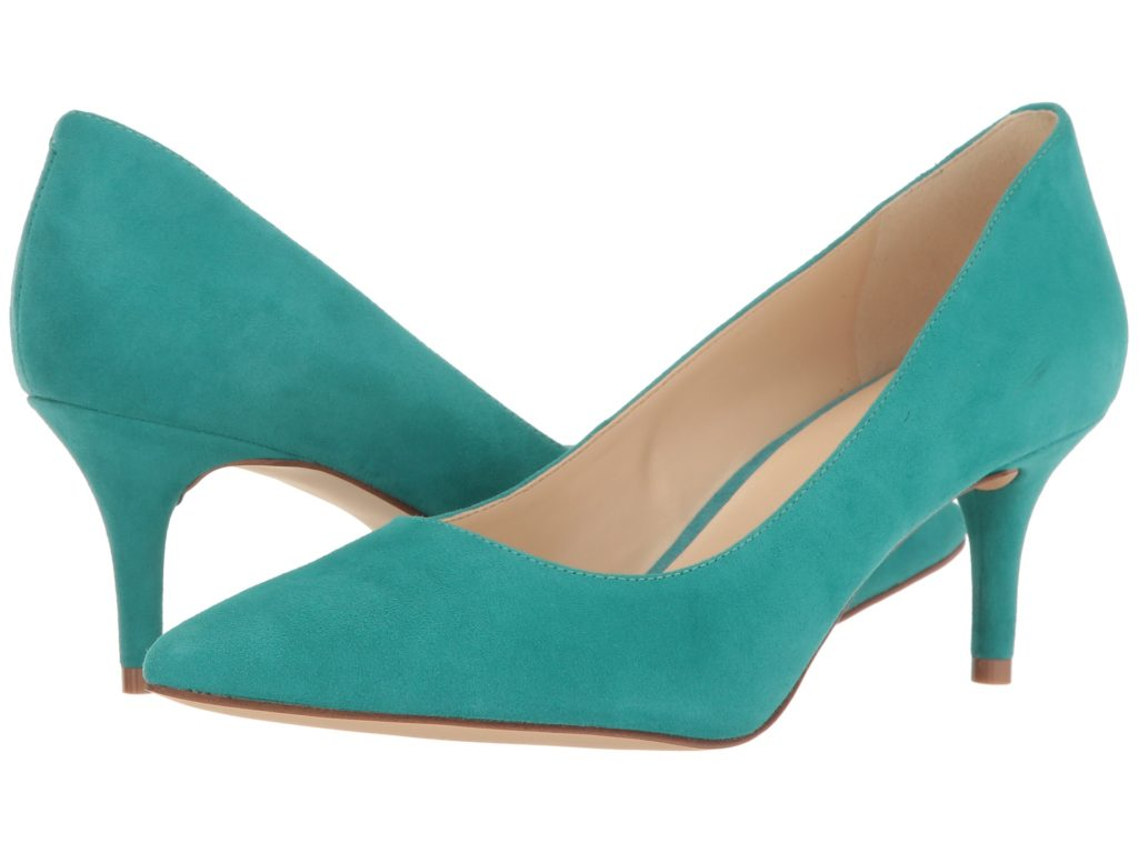 336e8fcde Nine West Margot Dark Turquoise Suede Pumps | Everything Turquoise