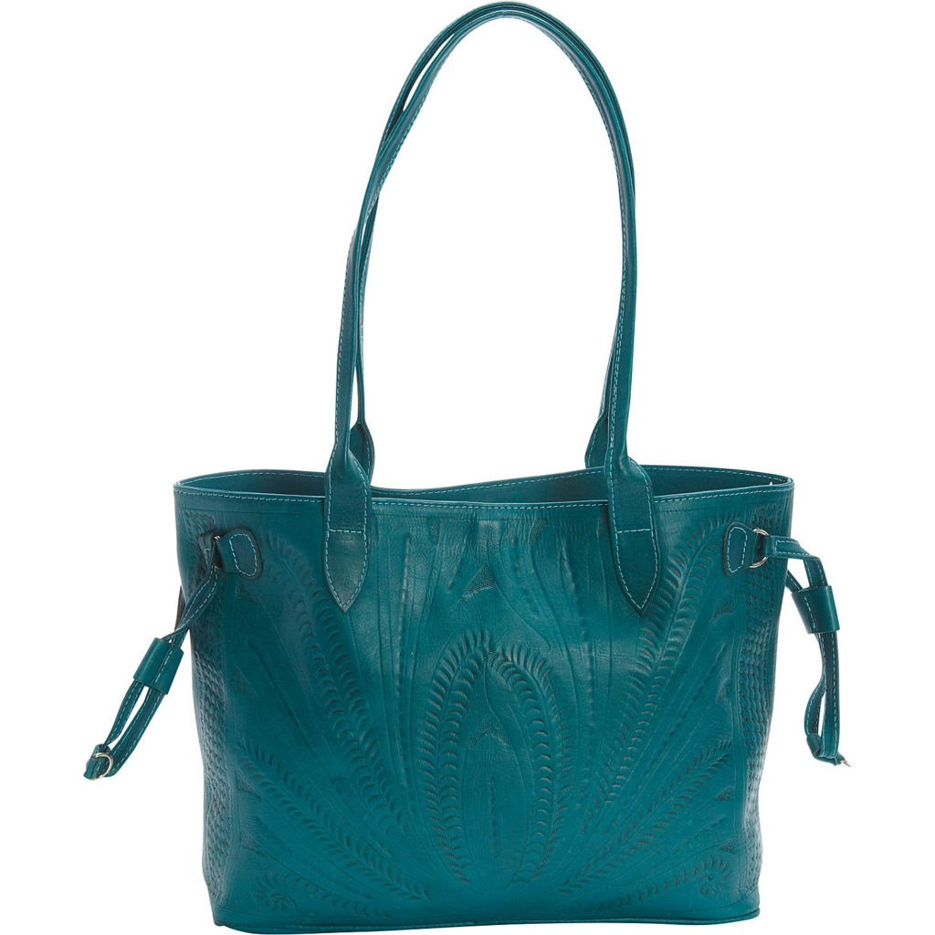 Ropin West Turquoise Tote