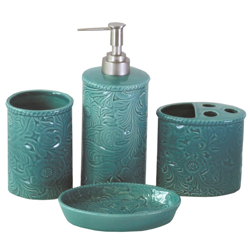Savannah 4-Piece Bathroom Accessory Set