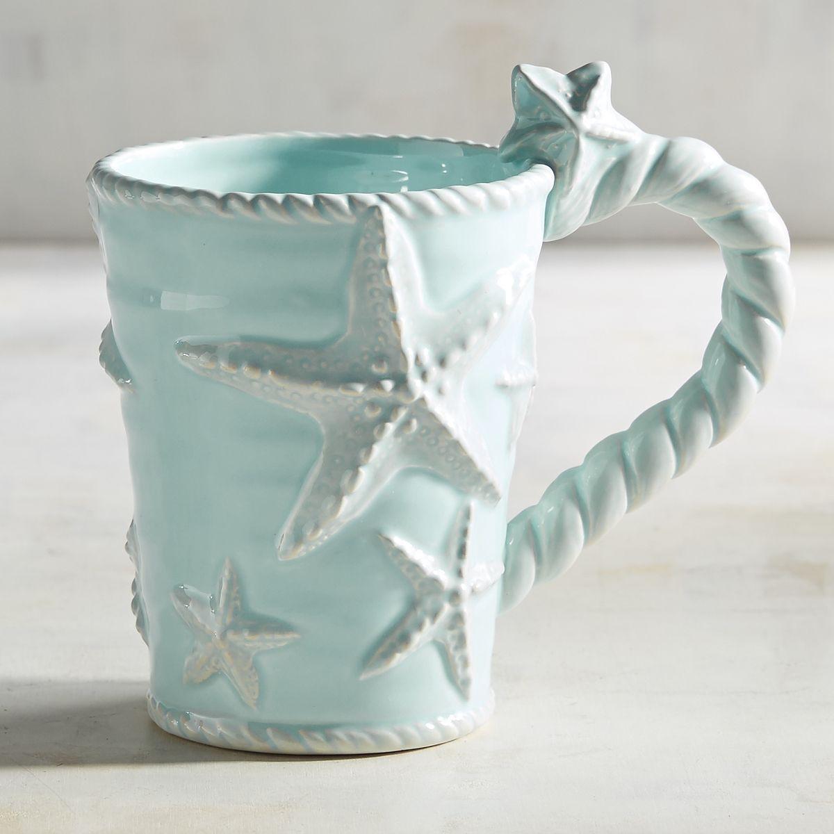 Starfish Mug Everything Turquoise