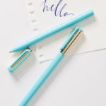 Turquoise Writerly Pen Set
