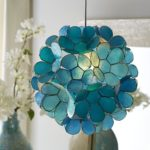 Daisy Capiz Pendant Light