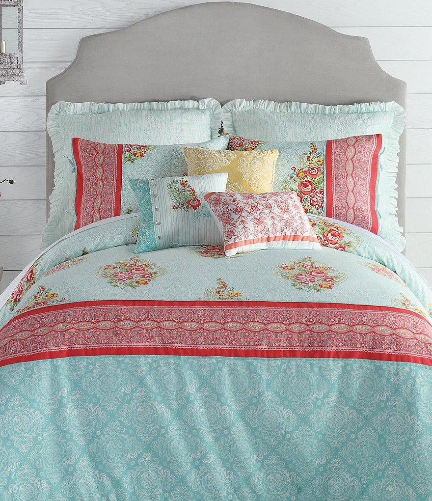 Ellie Floral Paisley Comforter Mini Set