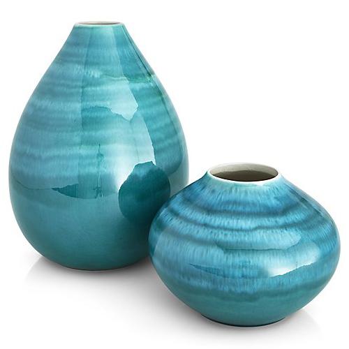 Jenilee Vase Everything Turquoise