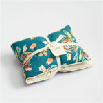 Navy Floral Heat Pillow