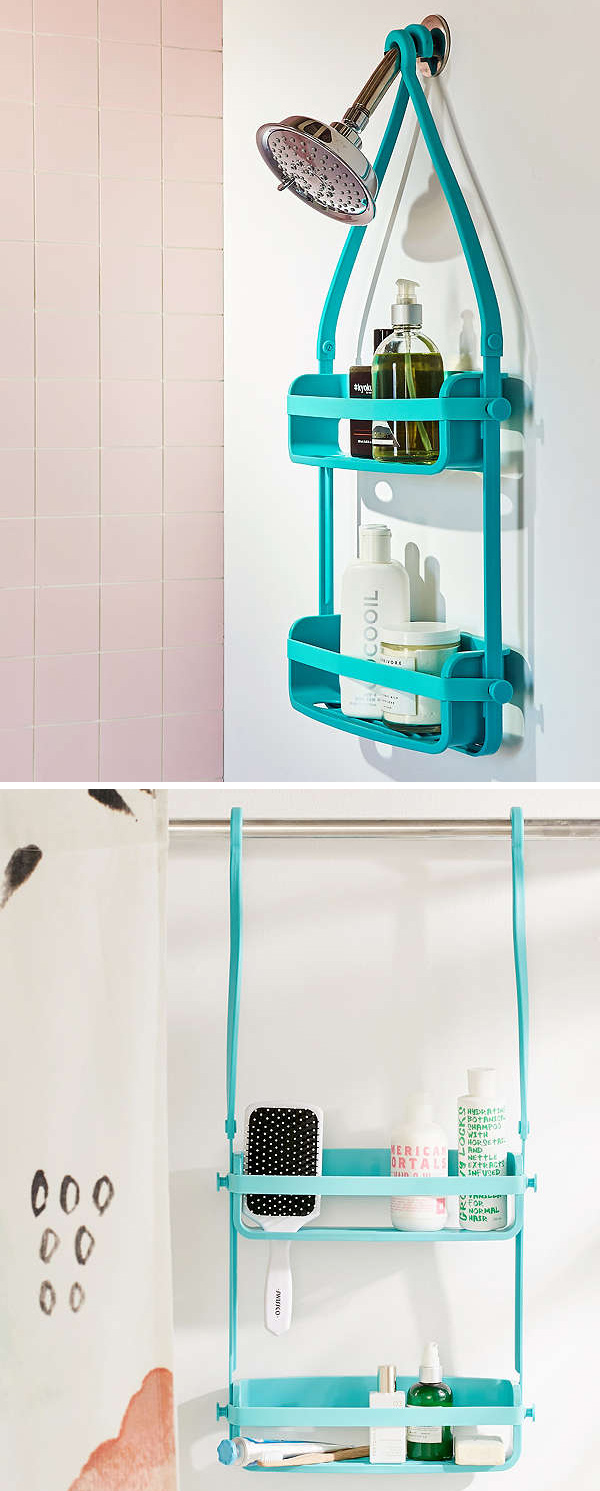 Preston Flex Shower Caddy | Everything Turquoise