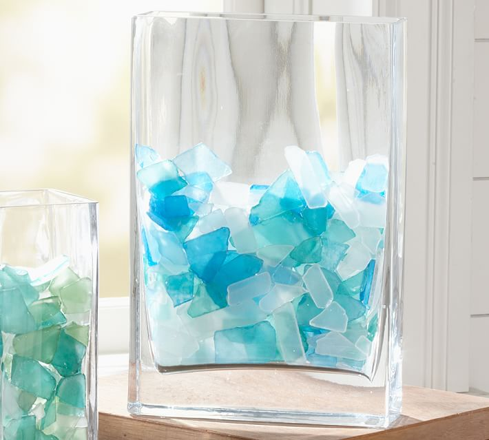 Sea Glass Vase Filler Everything Turquoise
