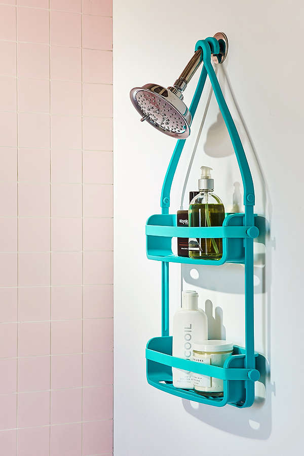 Preston Flex Shower Caddy Everything Turquoise