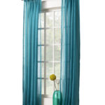 Avril Crushed Sheer Rod Pocket Curtain Panel