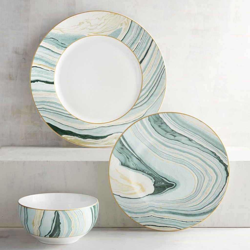 Katalla Bay Ceramic Dinnerware & Dinnerware | Everything Turquoise