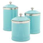 Turquoise Ceramic Canisters