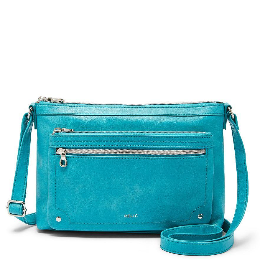 Turquoise Relic Evie Crossbody Bag