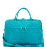 Turquoise Vera Bradley Quilted Weekender Travel Bag
