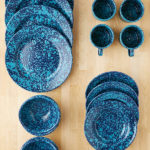 16-Piece Speckled Enamelware Starter Kit